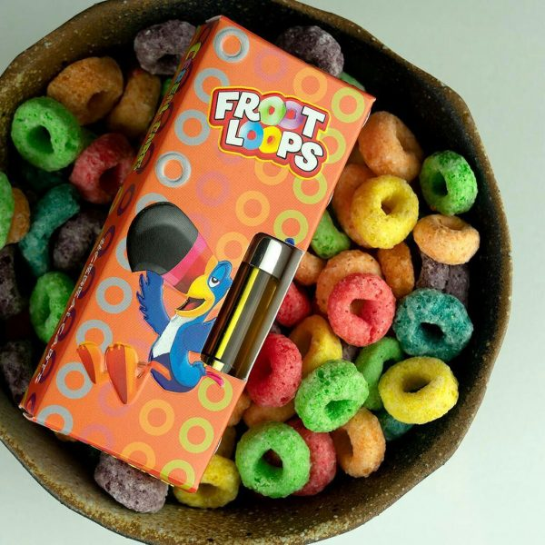 Froot Loops - Cereal Carts